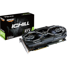 Placa de Vídeo Inno3D GeForce RTX 2070 Super iChill X3 Ultra, 8GB GDDR6, 256Bit, C207S3-08D6X-1780VA26
