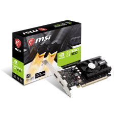 Placa de Vídeo MSI, Geforce, GT 1030 2GD4 LP OC, 2GB, DDR4, 64 bit, 912-V809-2826
