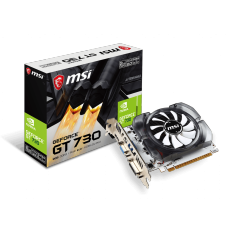 Placa de Vídeo MSI, Geforce, GT 730 2GB, N730-2GD3V3, GDDR3, 128 bit, 912-V809-2261
