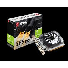 Placa de Vídeo MSI, Geforce, GT 730 2GB, N730-2GD3V3, GDDR3, 128 bit, 912-V809-2261