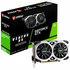Placa de Vídeo MSI GeForce GTX 1650 D6 Ventus XS Dual OC, 4GB GDDR6, 128Bit
