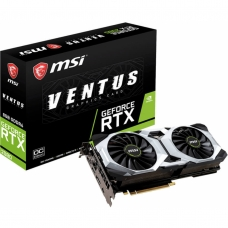 Placa de Video MSI GeForce RTX 2080 Ventus OC Dual, 8GB GDDR6, 256Bit