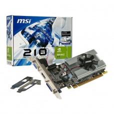 Placa de Vídeo MSI Geforce GT 210, 1GB, GDDR3, 64Bit, N210-MD1G/D3