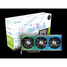 Placa de Vídeo Palit NVIDIA GeForce RTX 3070 TI GameRock, 8GB, GDDR6X, 256bit, LHR, NED307T019P2-1047G