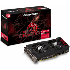 Placa de Ví­deo PowerColor Radeon RX 570 Red Dragon Dual, 4GB GDDR5, 256Bit, AXRX 570 4GBD5-3DHDV2/OC