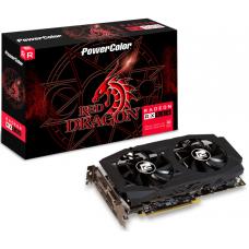 Placa de Vídeo PowerColor, Radeon, Red Dragon RX 580, 8GB, GDDR5, 256Bit, AXRX 580 8GBD5-3DHDV2/OC - Open Box
