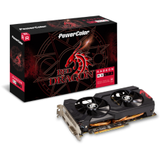 Placa de Ví­deo PowerColor Radeon RX 570 Red Dragon Dual, 4GB GDDR5, 256Bit, AXRX 570 4GBD5-DHDV3/OC