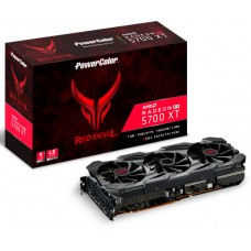 Placa de Vídeo PowerColor Radeon Navi RX 5700 XT Red Devil, 8GB GDDR6, 256Bit, AXRX 5700 XT 8GBD6-3DHE/OC