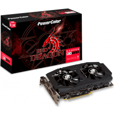 Placa de Vídeo PowerColor, Radeon, Red Dragon RX 580, 8GB, GDDR5, 256Bit, AXRX 580 8GBD5-3DHDV2/OC