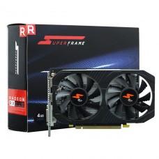 Placa de Vídeo SuperFrame Radeon RX 560-D 4GB, GDDR5, 128bit, RX560/4GD5P8DIP - Dual Fan