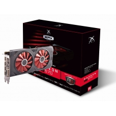 Placa de Vídeo XFX Radeon RX 570 4GB OC+ RS XXX Edition RX-570P4DFD6 DDR5
