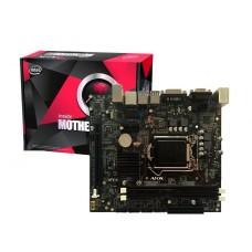 Placa Mãe Afox IH55-MA4 Chipset H55, Intel LGA 1156, mATX, DDR3 - Open Box