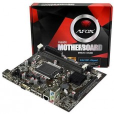 Placa Mãe Afox IH61-MA5 Chipset H61, Intel LGA 1155, mATX, DDR3