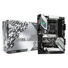Placa Mãe AsRock B550 Steel Legend, Chipset B550, AMD AM4, ATX, DDR4
