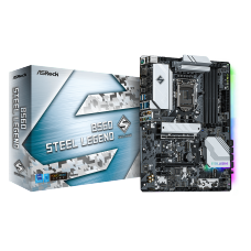 Placa Mãe ASRock B560 Steel Legend, Chipset B560, Intel LGA 1200, ATX, DDR4, 90-MXBFD0-A0UAYZ