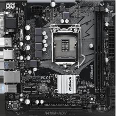 Placa Mãe Asrock H410M-HDV, Chipset H410M, Intel LGA 1200, mATX, DDR4