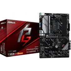 Placa Mãe ASRock X570 Phantom Gaming 4, Chipset X570, AMD AM4, ATX, DDR4