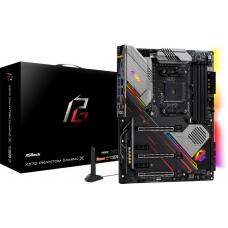 Placa Mãe ASRock X570 Phantom Gaming X Wifi, Chipset X570, AMD AM4, ATX, DDR4