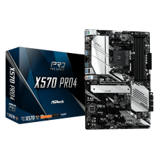 Placa Mãe Asrock X570 Pro4, Chipset X570, AMD AM4, Wifi, ATX, DDR4