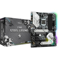 Placa Mãe Asrock Z390 Steel Legend, Chipset Z390, Intel LGA 1151, ATX, DDR4, 90-MXBAL0-A0UAYZ