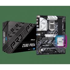 Placa Mãe ASRock Z590 Pro4, Chipset Intel Z590, Socket 1200, ATX, DDR4
