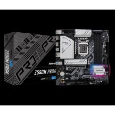 Placa Mãe ASRock Z590M Pro4, Chipset Intel Z590, Socket 1200, Micro ATX, DDR4