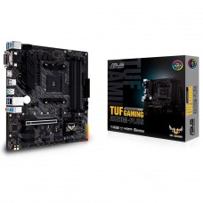 Placa Mãe Asus TUF Gaming A520M-PLUS, Chipset A520, AMD AM4, mATX, DDR4, 90MB14Y0-M0EAY0