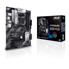 Placa Mãe Asus Prime B550-Plus, Chipset B550, AMD AM4, ATX, DDR4, 90MB14U0-M0EAY0
