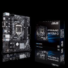 Placa Mãe Asus Prime H410M-D, Chipset H410, Intel LGA 1200, mATX, DDR4