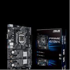 Placa Mãe ASUS PRIME H510M-K, Chipset H510, Intel LGA 1200, mATX, DDR4, 90MB17N0-M0EAY0