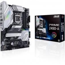 Placa Mãe Asus Prime Z490-A, Chipset Z490, Intel LGA 1200, Wi-Fi, ATX, DDR4