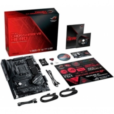 Placa Mãe Asus ROG CROSSHAIR VII HERO, Chipset X470, AMD AM4, ATX, DDR4
