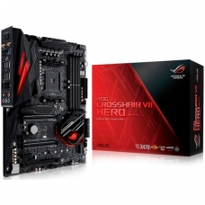 Placa Mãe Asus ROG CROSSHAIR VII HERO WIFI, Chipset X470, AMD AM4, ATX, DDR4