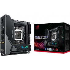 Placa Mãe Asus Rog Strix Z490-I Gaming Wi-fi, Chipset Z490, Intel LGA 1200, Mini-ITX, DDR4
