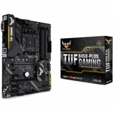Placa Mãe Asus TUF B450-Plus Gaming, Chipset B450, AMD AM4, ATX, DDR4