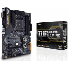 Placa Mãe Asus TUF B450-PRO GAMING, Chipset B450, AMD AM4, ATX, DDR4