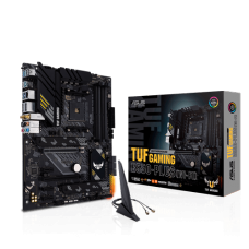 Placa Mãe Asus TUF Gaming B550-Plus WI-FI, Chipset B550, AMD AM4, ATX, DDR4, 90MB15D0-M0EAY0