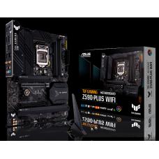 Placa Mãe ASUS TUF Gaming Z590-PLUS WIFI, Chipset Z590, Intel LGA 1200, ATX, DDR4, 90MB16C0-M0EAY0
