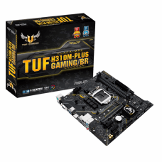 Placa Mãe Asus TUF H310M-Plus Gaming, Chipset H310, Intel LGA 1151, mATX, DDR4