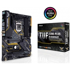Placa Mãe Asus TUF Z390-Plus Gaming (Wi-fi), Chipset Z390, Intel LGA 1151, ATX, DDR4
