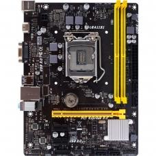 Placa Mãe Biostar 6+ Experience H110MHC, Chipset H110, Intel LGA 1151, mATX, DDR4