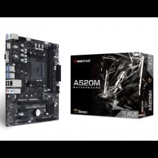 Placa Mãe Biostar A520MH, Chipset A520, AMD AM4, mATX, DDR4