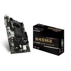 Placa Mãe Biostar B350M, Chipset B350, AMD AM4, mATX, DDR4 - Open Box