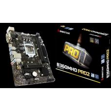 Placa Mãe Biostar B360MHD PRO 2, Chipset B360, Intel LGA 1151, mATX, DDR4