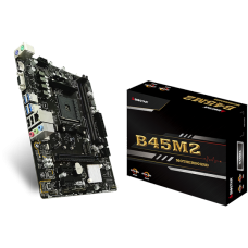 Placa Mãe Biostar B45M2, Chipset B350, AMD AM4, mATX, DDR4 - Open Box