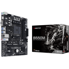 Placa Mãe Biostar B550MH, Chipset B550, AMD AM4, mATX, DDR4, AB55AM4S-R02-BS212X