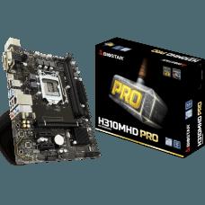 Placa Mãe Biostar H310MHD PRO, Chipset H310, Intel LGA 1151, mATX, DDR4