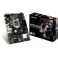Placa Mãe Biostar H310MHP, Chipset H310, Intel LGA 1151, mATX, DDR4