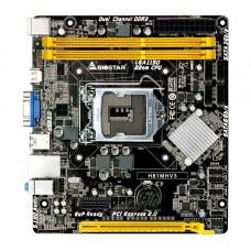 Placa Mãe Biostar H81MHV3 Ver. 7.3, Chipset H81, LGA 1150, mATX, DDR3