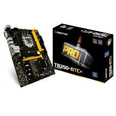 Placa Mãe Biostar PRO TB250BTC+, Chipset B250, Intel LGA 1151, ATX, DDR4 - Open box